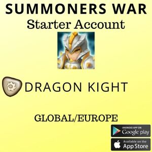 Summoners War Light Dragon Knight Jager Starter Account