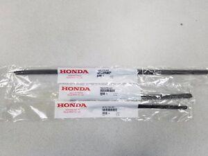 GENUINE HONDA CR-V FRONT & REAR WIPER REFILL SET FRONT & REAR 2012 TO 2016 CRV