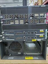 Cisco Catalyst 6-Slot WS-C6506-E 2x WS-SUP720-3B 2x WS-X6516A-GBIC 1x PSU