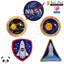 NASA USA NASA Embroidered Iron On /Sew On Patch Badge For Clothes Bags Shoes etc