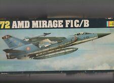 Heller 1/72 AMD MIRAGE F1C/B  (+surplus même boite)