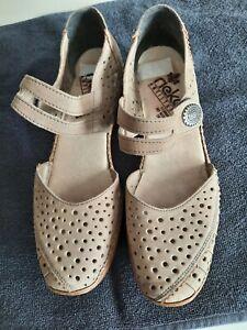 Rieker Antistress womens Shoes 40 Beige Neutral