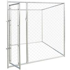 Outdoor Dog Kennel Large Tall Chain Link Fence Pet Enclosure Run House 6' x 6'