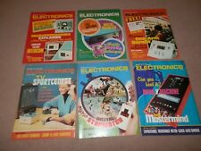 Lot 6 Practical Electronics magazines 1977 Microprocessors Computer History