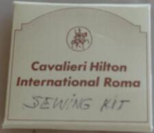 Vintage Cavalieri Hilton International Roma Sewing Kit - GREAT COLLECTIBLE ITEM