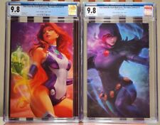 Tales from the Dark Multiverse: Judas Contract CGC 9.8 Artgerm Virgin Set! Both