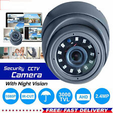 TELECAMERA DOME CCTV Full HD 1080p 2.4MP Sony CVI TVI e l'riconoscimento JOYSTICK visione notturna