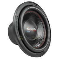 "American Bass XD-1244 12"" Subwoofer Dual 4 Ohm 1000 Watts Max Car Audio Single"