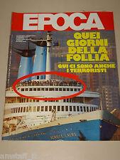 EPOCA=1985/1828=ACHILLE LAURO=ATER BALLETTO AMEDEO AMODIO=MIKHAIL GORBACIOV=