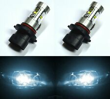 LED 30W 9005XS HB3A White 6000K Two Bulbs Head Light High Beam Replacement