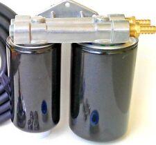 FORD Powerstroke Diesel 6.7 Dual Remote Engine Oil Filter Kit~NO Hose Version