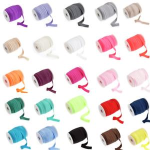16mm Fold Over Elastic Shiny Soft Tutu Headband Dancewear Nylon/Spandex