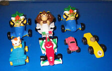 Lot of 7 Toys Toy Mario Kart Cars Vehicles Misc. Assorted Figures Hot Wheels
