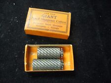 Vintage Pair of GIANT Pencil Sharpener Cutters NOS in Box