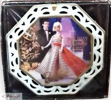 Enesco Barbie Collectors Ornament Holiday Dance 1965 Ltd Edition  Mattel  NIB