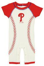 Outerstuff MLB Infant Philadelphia Phillies Ground Ball Romper