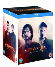 SUPERNATURAL COMPLETE SEASON 1 2 3 4 5 6 7 8 9 & 10 blu ray BOX SET RB 1-10 SALE