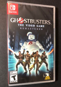 Ghostbusters The Video Game [ Remastered ] (Nintendo Switch) NEW