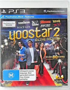 Yoostar 2 In The Movies PS3 Brand New and Sealed