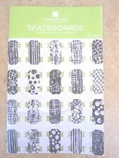 "Skateboards Quilt Pattern for 10"" Squares Square Project New by MSQC"