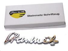 Steinmetz-Schriftzug Chrom Opel Ascona Manta A GT Kadett B Commodore Rekord C D