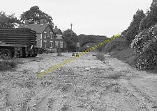 Verwood Railway Station Photo. West Moors - Daggons Road. Fordingbridge Line (5)
