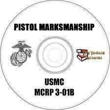 Pistol Marksmanship Training Manual on CD