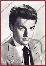 ROBERT WAGNER 03b ATTORE ACTOR ACTEUR CINEMA MOVIE Cartolina FOTOGR. viagg. 1957
