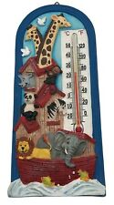 Spoontiques thermometer Noah's Ark animals children's nursery room baby Gift