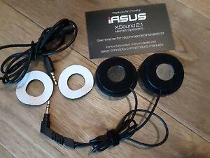 iASUS XSound2.1 Helmet Speakers Superior Sound