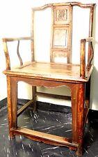 Antique Chinese Ming Arm Chair (2560), Circa 1800-1849