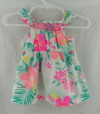"""Doll Clothes Carter's Floral Infant Dress Newborn Outfit 20""""-24"""" Doll"""