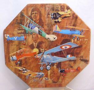 SPRINGBOK WWI AIRPLANES BOB PETTES OKTA PUZZLE 1967 BOXED COMPLETE