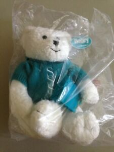 AVON Collectible BEARY BEAUTIFUL PLUSH BEAR Lil Softie Skin So Soft Bear HTF NEW