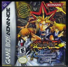 GBA Yu-Gi-Oh ! World Championship Tournment 2004, New & Nintendo Factory Sealed