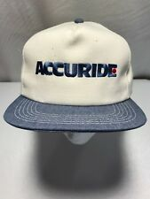 ACCURIDE Embroidered Snapback Cotton Trucker Baseball Hat