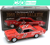 Cale Yarborough 1965 Ford Galaxie University of Racing 1/24 Die Cast IN STOCK