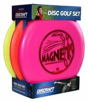 Golf Disc Set Beginner 3 Pack Outdoor Sports Frisbee Mid Range Driver And Putter