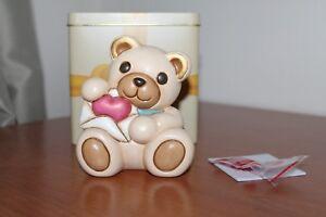 """THUN 2017,"""" Orso Teddy"""" San Valentino"""". Alteza 10 cm. Nuovo. Idea regalo."""
