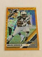 2019 Panini Optic Football Orange Scope #/79 - Melvin Gordon III - Chargers