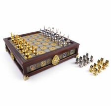 Harry Potter Hogwarts Houses Quidditch Chess By Noble Collection