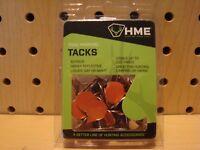 HME Orange Reflecting Tacks Hunting Trail Hiking Markers 50 Pack HME-RT-50 NEW