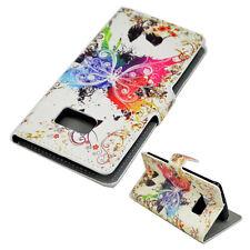 Book Flip Leather Wallet Phone Pocket Case Cover Skin For Samsung Mobile Phone