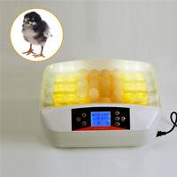 Automatic Digital 32 Egg Turning Incubator Chicken Hatcher Temperature Control