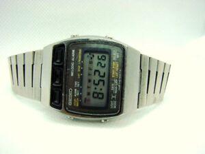 MONTRE WATCH SEIKO MELODIC ALARM LCD A169-5000 JAPAN VINTAGE 1979
