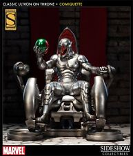 SIDESHOW CLASSIC ULTRON on THRONE COMIQUETTE STATUE EXCLUSIVE AVENGERS MARVEL