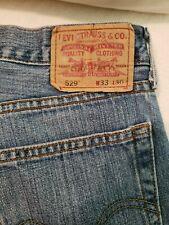 Levi's 529 Low Rise Straight Jeans Men Size 33 x 30