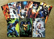 MARVEL FLAIRPRINT SET (10) - 1994 Marvel Flair Print