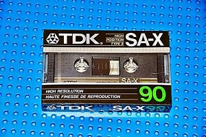 TDK  SA-X   90   VS. XI    1985   BLANK CASSETTE TAPE  (1)     (SEALED)