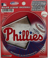 "Philadelphia  Phillies MLB Decal Car Window 4.5"" Sticker Baseball Lic. Sports"